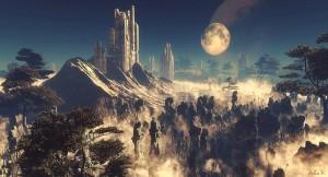1024x554_5969_Unknown_Civilization_3d_sci_fi_moon_surreal_futuristic_alien_vue_planet_rocks_foggy_picture_image_digital_art