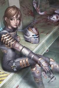 1076x1600_13420_Dead_Space_2d_fan_art_girl_woman_sci_fi_soldier_picture_image_digital_art