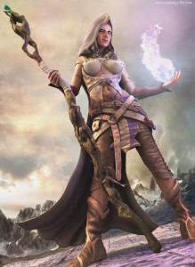 1169x1600_6490_Sorceress_3d_fantasy_sorceress_girl_woman_female_casting_magic_mage_picture_image_digital_art