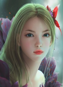 1172x1600_16948_Flower_3d_fantasy_character_flower_girl_woman_portrait_picture_image_digital_art