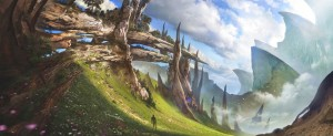 1600x661_19985_Waiting_for_Spring_2d_fantasy_landscape_mountains_picture_image_digital_art