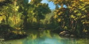 1600x797_15160_Forrest_corner_2d_landscape_game_art_forest_picture_image_digital_art
