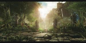 1600x803_20949_Forsaken_Jungle_3d_fantasy_jungle_forsaken_picture_image_digital_art