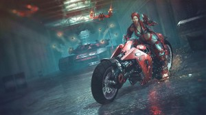 1600x900_16868_Red_steel_ii_3d_sci_fi_girl_rifle_motorcycle_bike_guns_chase_spacesuit_warrior_exoskeleton_cyberpun