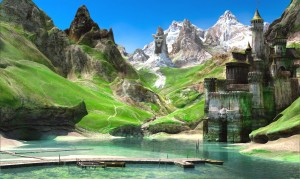 1600x958_8079_Landscape_3d_fantasy_landscape_castle_mountains_picture_image_digital_art