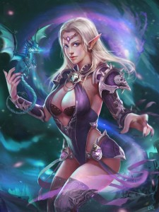 720x960_19213_Dragon_2d_illustration_fantasy_girl_woman_dragoon_sorceress_elf_picture_image_digital_art